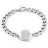 Sterling Silver SOS Talisman Bracelet - Snake & Staff