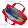 Large Red Medicine Bag