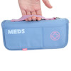Pink / Blue Supreme Epipen and Medicine Carrying Case