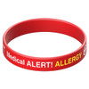 Allergy Silicone Medical Alert Band
