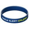 Epilepsy Alert Silicone Band