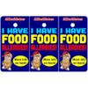 I Have Food Allergies Bag Tag / Key Fob