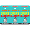 I Have A Dairy Allergy Bag Tag / Key Fob