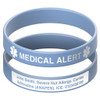 Deluxe Engraveable Silicone Bracelet (Outside Engraving)