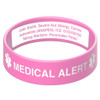 Deluxe Engraveable Silicone Bracelet BROAD BAND