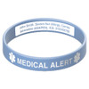 Deluxe Engraveable Silicone Bracelet (Inside Engraving)