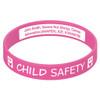 Child ID Engraveable Silicone Bracelet