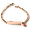 Fine Chain Stainless Steel Engraveable Bracelet