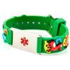 Kids Horse Play Green Engraveable Child Bracelet