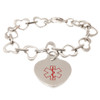 Linked Hearts Medical ID Bracelet