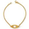Lightweight Oval Bracelet
