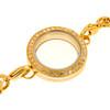Gold Plated Locket Bracelet