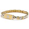 The Cross Link Bracelet