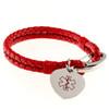 The Corded Heart Bracelet