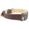 Stainless Steel SOS Talisman Watch Style Flat Strap with Chrome Buckle - 18mm