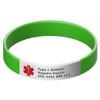 Medical Bracelet with Engraveable Tag