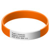 Sports Bracelet with Engraveable Tag