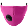 Reusable Washable Face Mask with Vent Pink