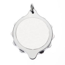 Sterling Silver SOS Talisman Pendant - Standard Plain