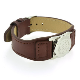 Brown Leather Strap (no skin contact) SOS Talisman