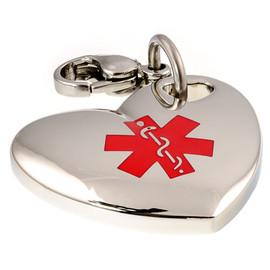 Heart Engraveable Charm