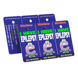 I Have Epilepsy Bag Tag / Key Fob