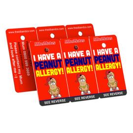 I Have A Peanut Allergy Bag Tag / Key Fob