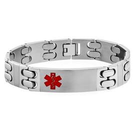 14mm Stainless Steel Engraveable Bracelet