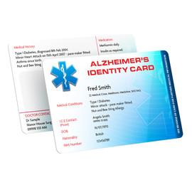 Alzheimers Identity Card