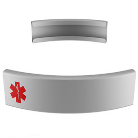 Medical Tag for Silicone Wristbands