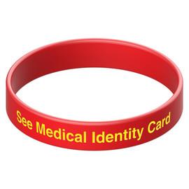 See Medical Identity Card Wristband