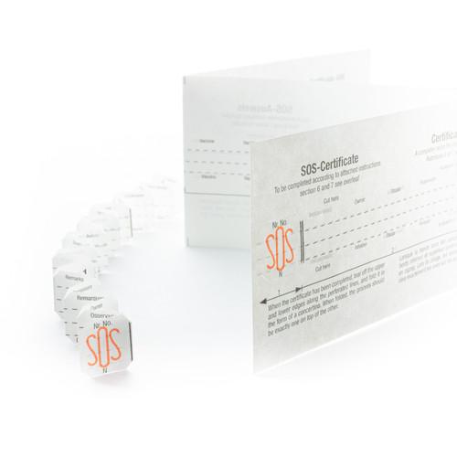 SOS Talisman Paper Information Strip