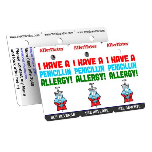 I Have A Penicillin Allergy Bag Tag / Key Fob