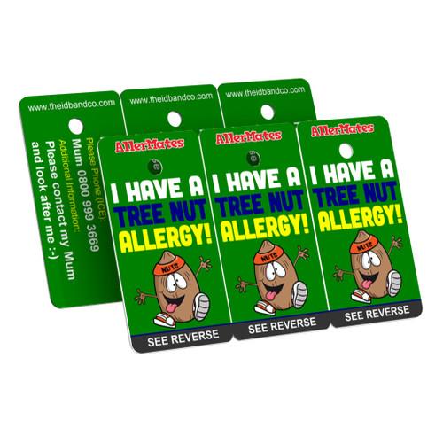 I Have A Tree Nut Allergy Bag Tag / Key Fob
