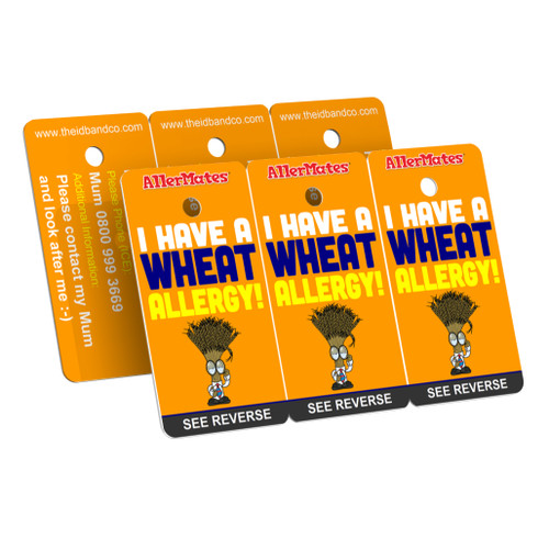 I Have A Wheat Allergy Bag Tag / Key Fob