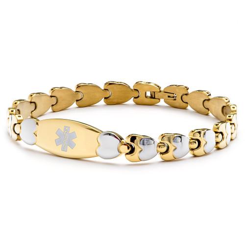 The Woven Hearts Bracelet