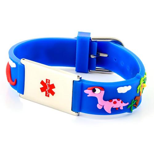 Kids Dinosaur Engraveable Bracelet