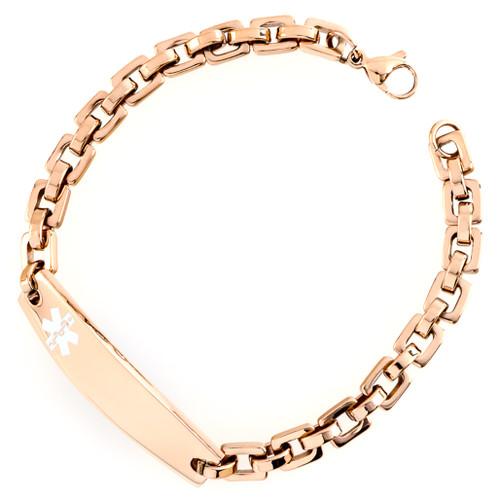 The Multi Shaped Links Bracelet