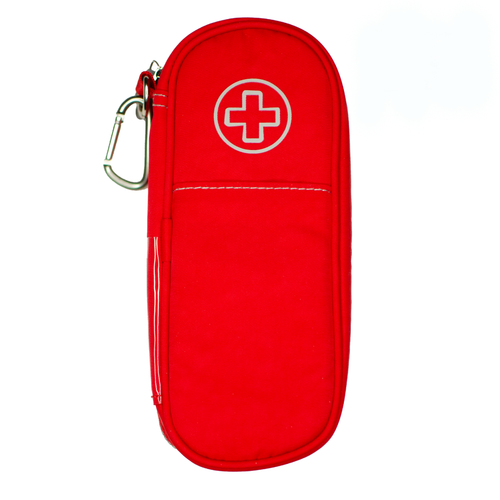 Poppy Red Epipen and Medicine Carrying Case