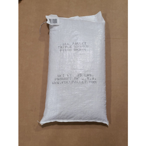 Fullpallet Triple Washed Pinto Beans  25lbs