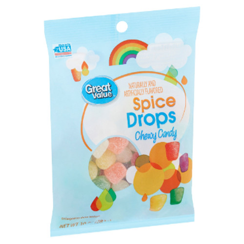 Great Value Spice Drops Chewy Candy 10 oz.