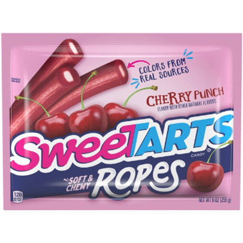 Sweet Tarts Soft & Chewy Ropes 9 oz.