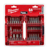 Milwaukee 48-32-1552 Driver Bit Set 64 pc.