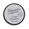 Milwaukee 49-36-2789 3 in. Black Foam Finishing Pad