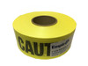 Empire 76-1001 Reinforced Caution Tape Yellow 3 in. x 500 ft.