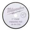 Milwaukee 49-36-2783 7 in Black Foam Finishing Pad