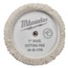 Milwaukee 49-36-5785 7 in. Wool Cutting Pad 5 Pack