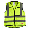 Milwaukee 48-73-5042 High Visibility Yellow Performance Safety Vest - L/XL