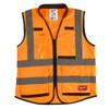 Milwaukee 48-73-5053 High Visibility Orange Performance Safety Vest - XXL/XXXL