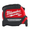 Milwaukee 48-22-0325 25 ft Compact Wide Blade Magnetic Tape Measure